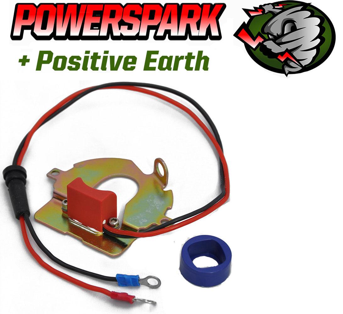 Austin Morris Angewiesen DK4A Bacolite Platte Positive Earth Elektronische